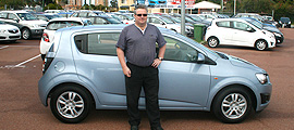 Holden Barina Car Auction Winner